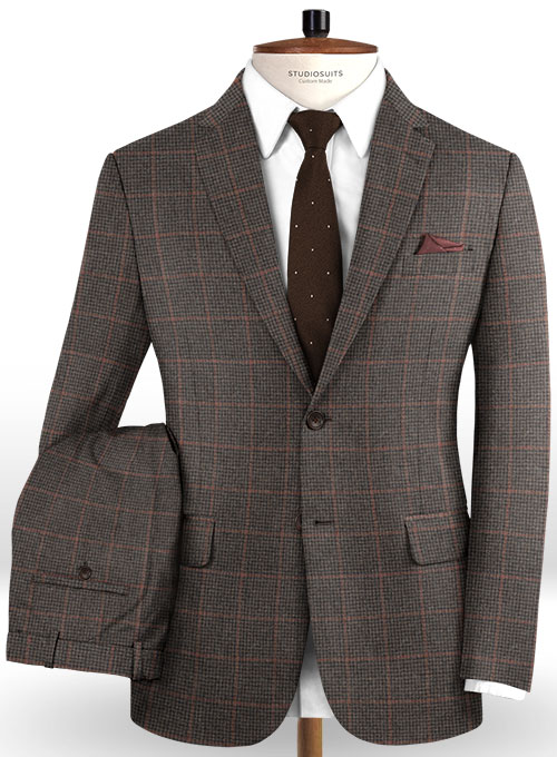 Italian Wool Duilio Suit - Click Image to Close