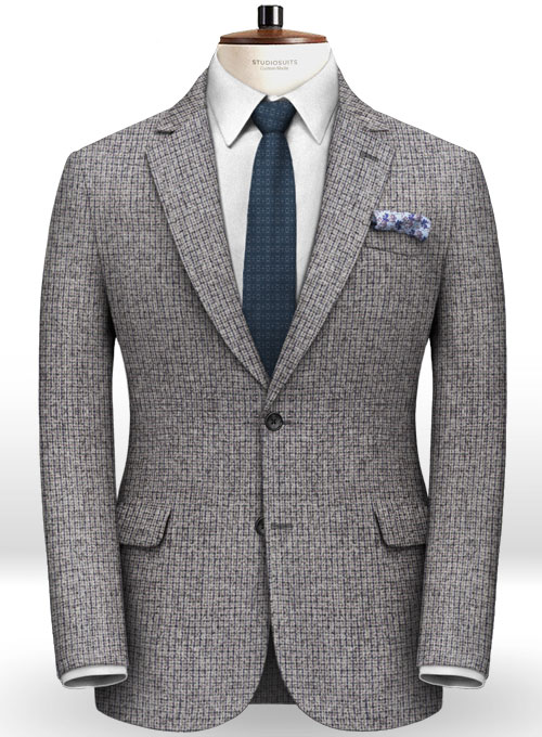 Italian Tweed Damo Suit - Click Image to Close