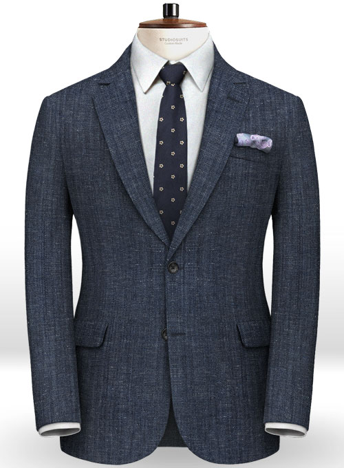 Italian Wool Linen Bella Suit - Click Image to Close