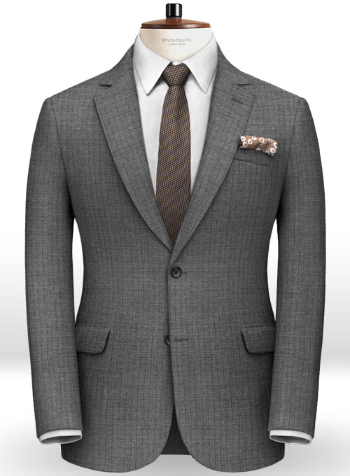 Italian Wool Rocko Suit - Click Image to Close