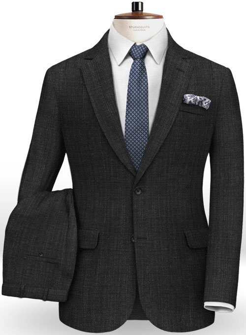 Italian Wool Sato Suit - Click Image to Close