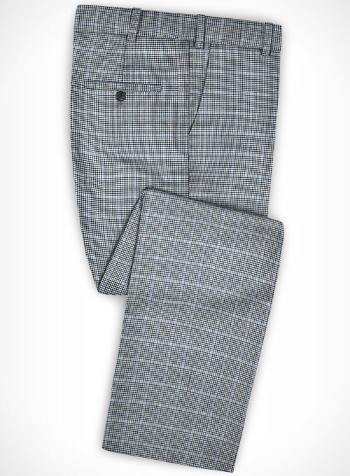 Italian Wool Cotton Nubia Suit - Click Image to Close
