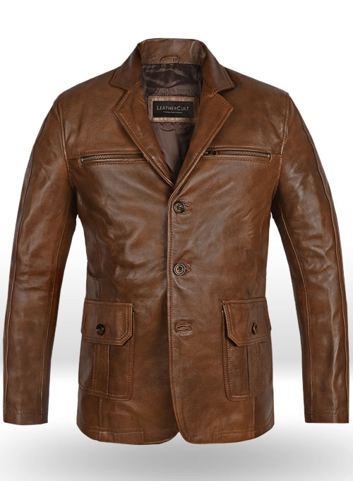 Leather Blazer - # 717