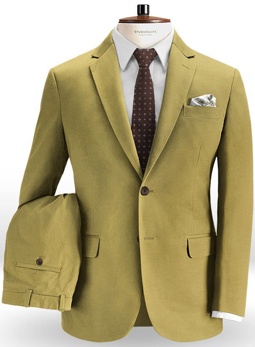 dcbbc33e Military Khaki Chino Suit : StudioSuits: Made To Measure Custom Suits,  Customize Suits, Jackets and Trousers