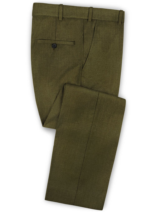 Reda Army Green Pure Wool Suit - Click Image to Close