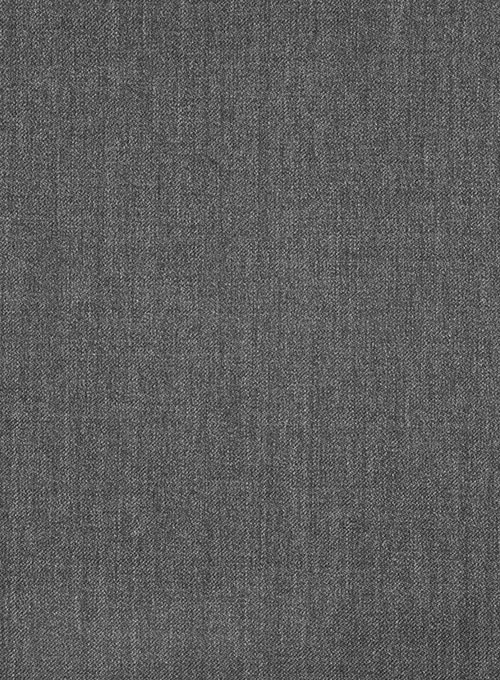 Scabal Graphite Gray Wool Suit - Click Image to Close