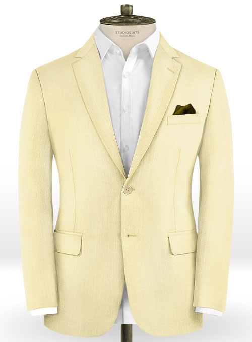Scabal Mellow Wool Suit - Click Image to Close