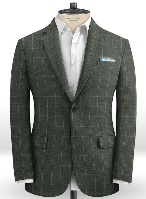 Solbiati Linen Wool Silk Natty Suit - Click Image to Close