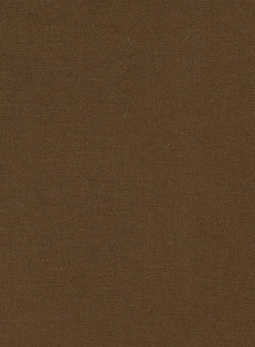 2b3136bb62d4 Stretch Summer Weight Brown Chino Suit   StudioSuits  Made To Measure  Custom Suits