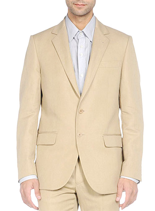 39e5c7b66c32 Stretch Summer Weight Cotton Jacket   StudioSuits  Made To Measure ...