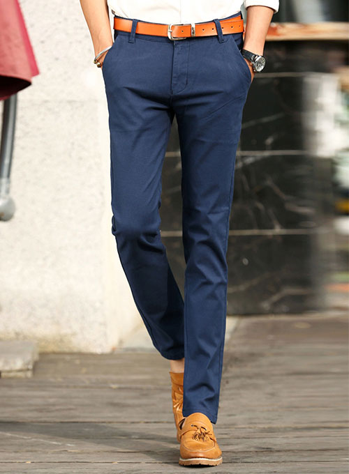 78d72669ee55 Summer Weight Cotton Dress Pants   StudioSuits  Made To Measure ...