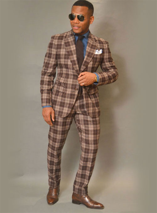 Pure Wool Tweed Suit Tweed Suit 200 00 Custom Suits