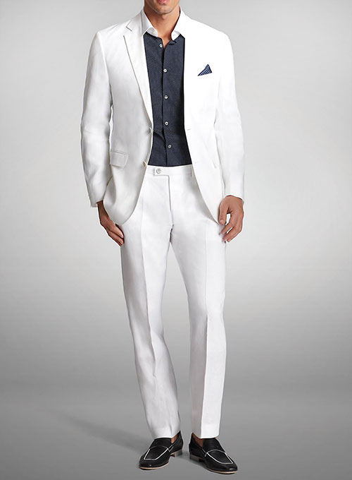discount collection factory outlets pretty cheap White Linen Suit