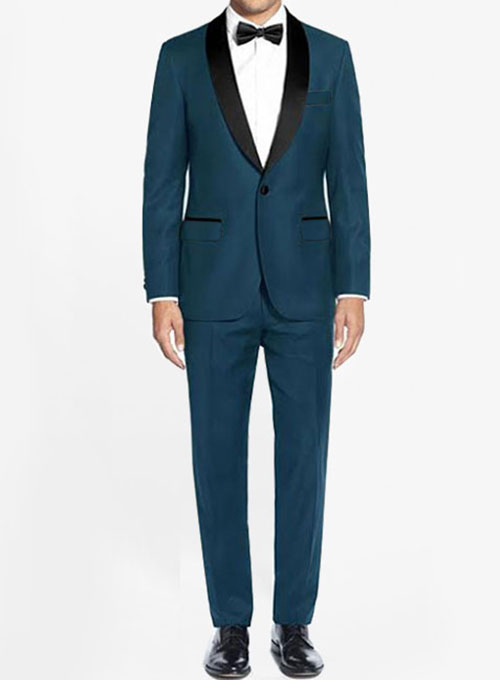 Wool Tuxedo Suit - Click Image to Close